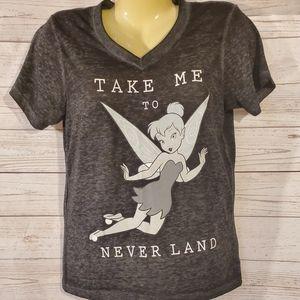 Disney Tinkerbell Take Me To Neverland Tee
